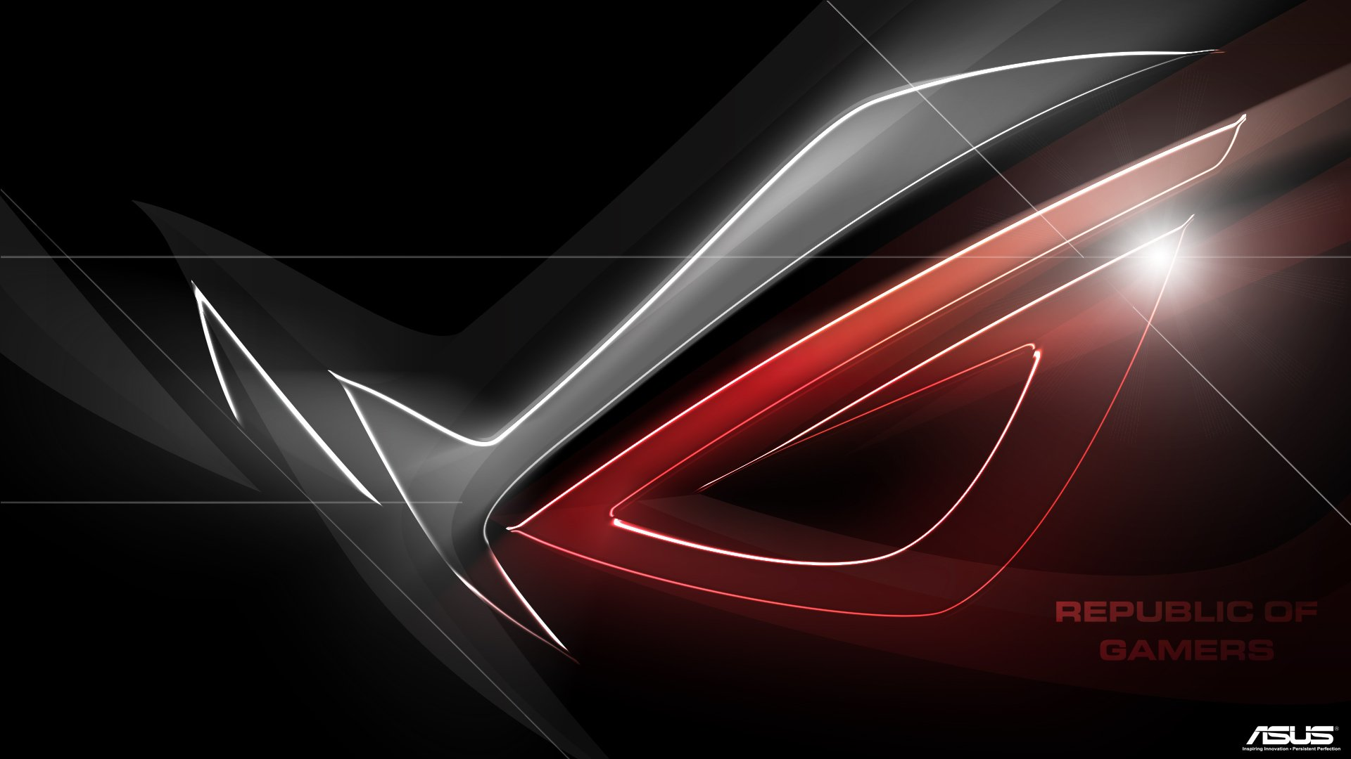 asus red tecnology wallpaper - photo #13