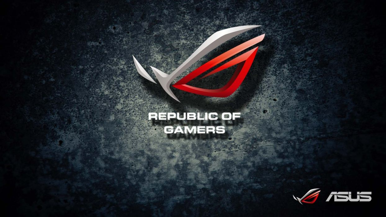 ASUS REPUBLIC GAMERS computer game wallpaper