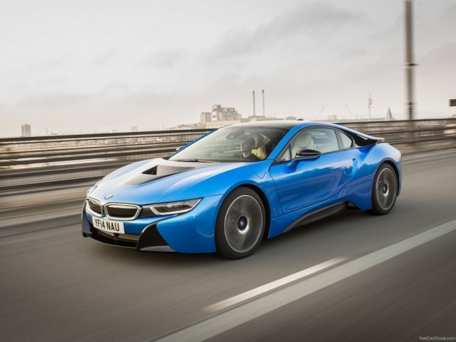 2014 BMW i 8 Supercar hybrid wallpaper
