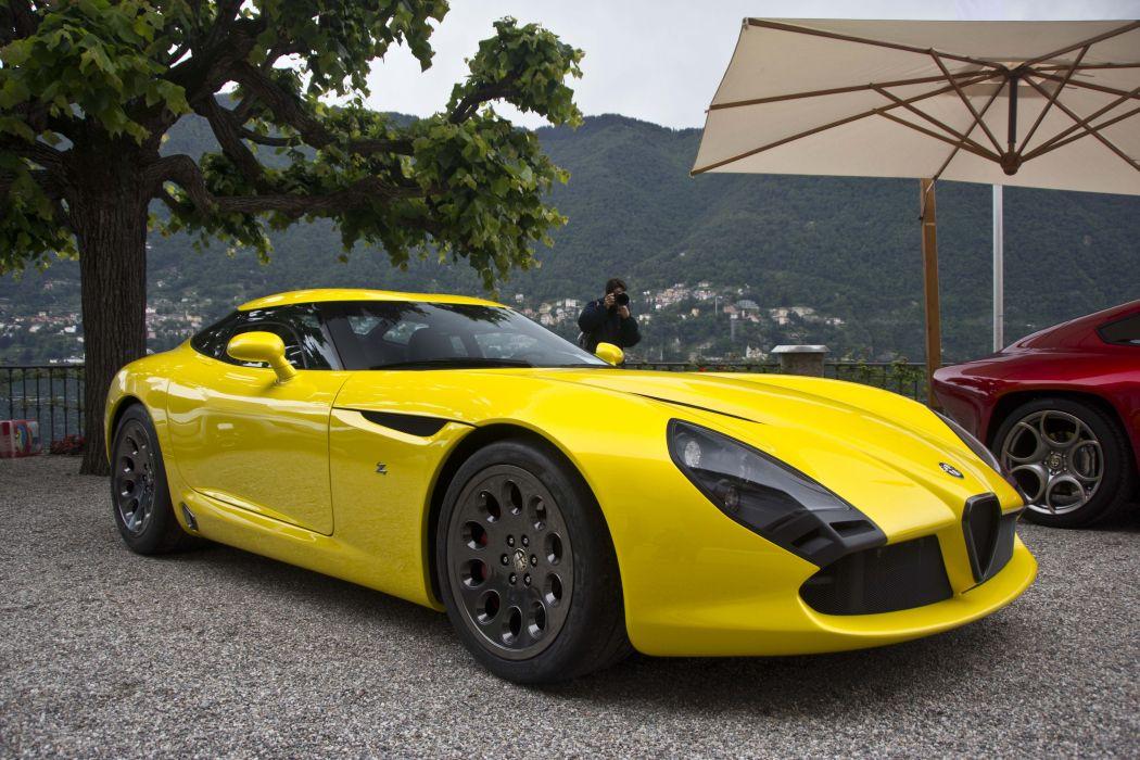 2011 alfa romeo stradale Supercar supercars tz3 zagato concept italian wallpaper