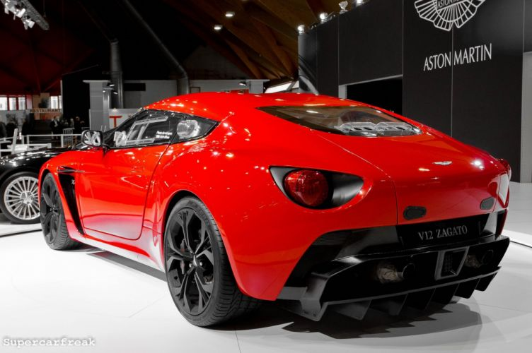 2011 Aston Martin v12 zagato supercar sportcar coupe wallpaper