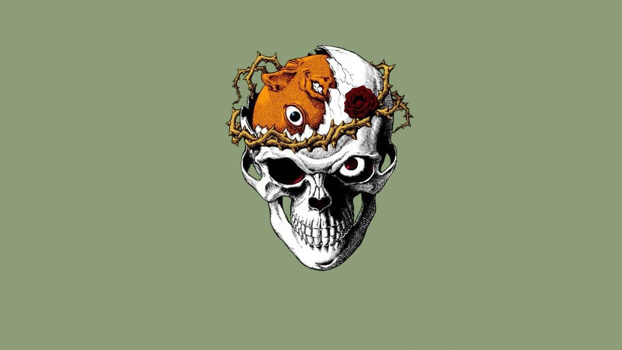 Berserk dark skull horror    f wallpaper