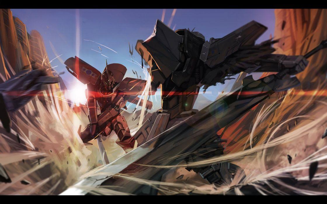 break blade mecha satori0121 sword weapon wallpaper
