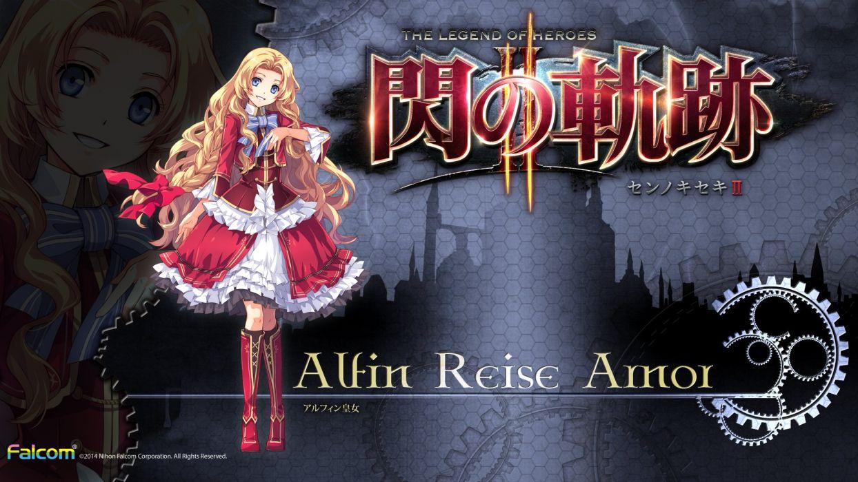 Eiyuu Densetsu Sen No Kiseki Alfin Reise Arnor G Wallpaper