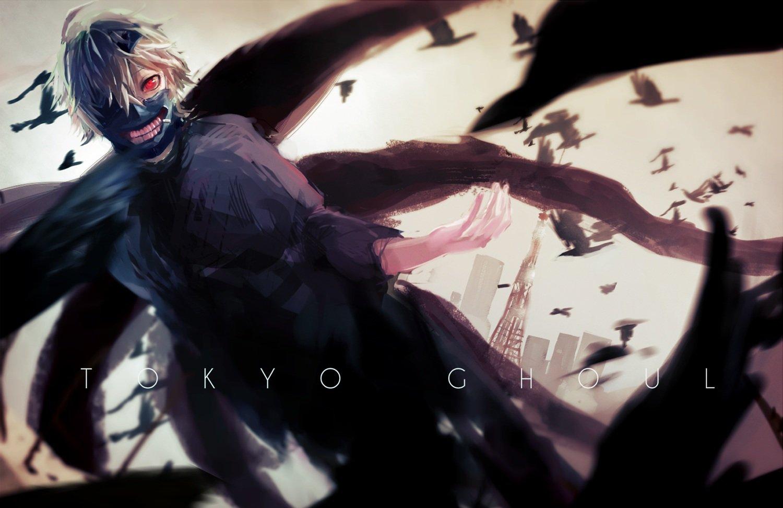 Hassan Sink916 Kaneki Ken Mask Red Eyes Tokyo Ghoul Wallpaper