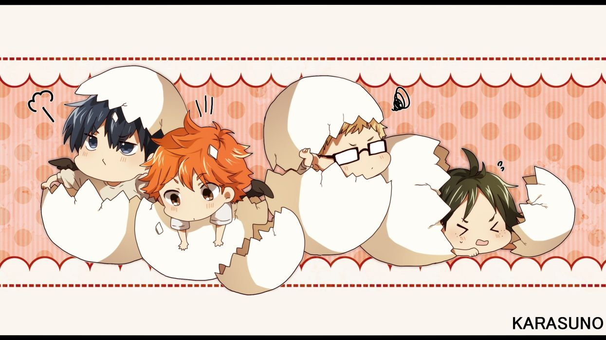Haikyuu!! chibi    f wallpaper