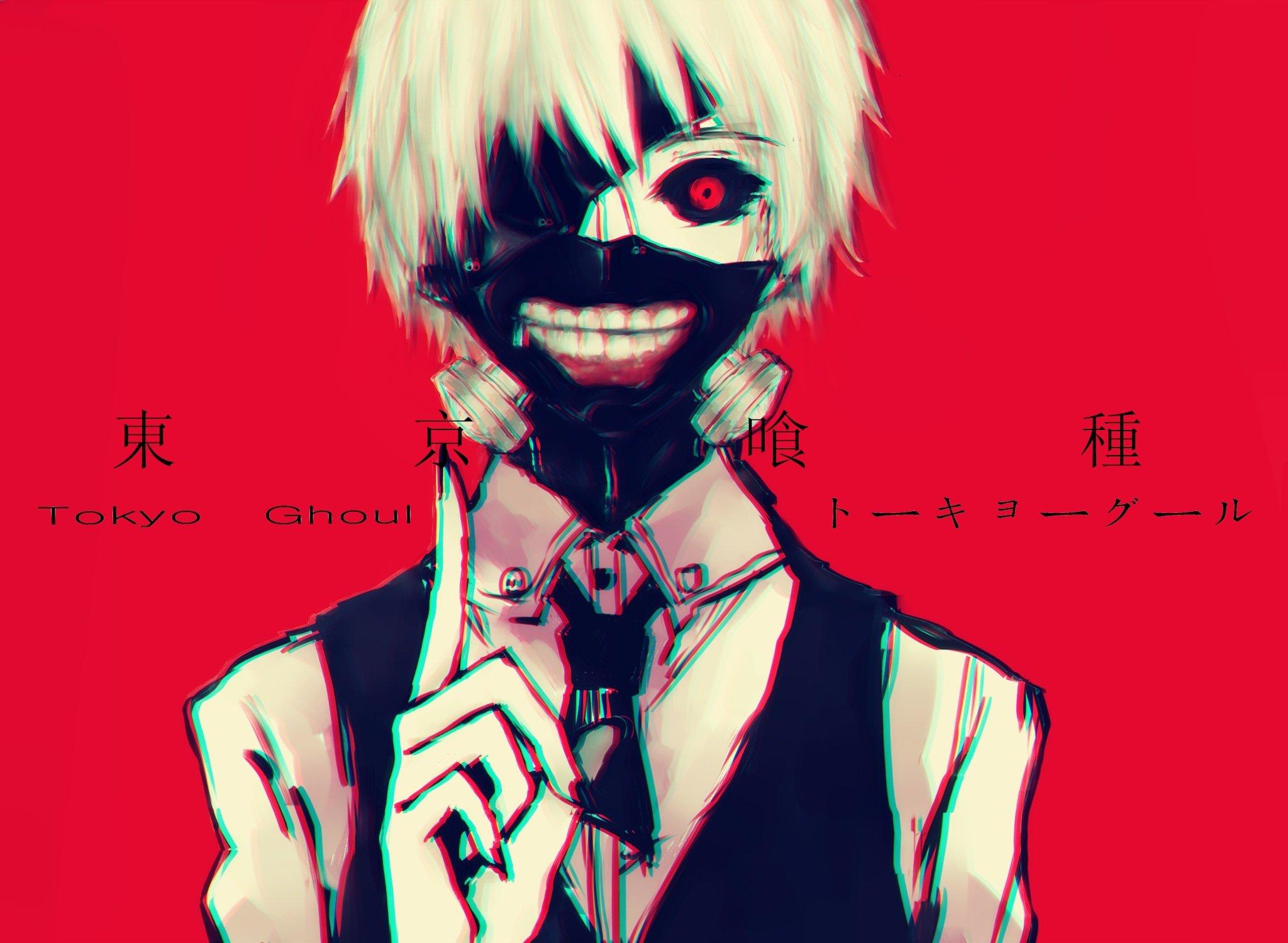 Tokyo Ghoul Ken Kaneki Wallpaper: Kaneki Ken Mask Red Sanlucha Tokyo Ghoul Wallpaper