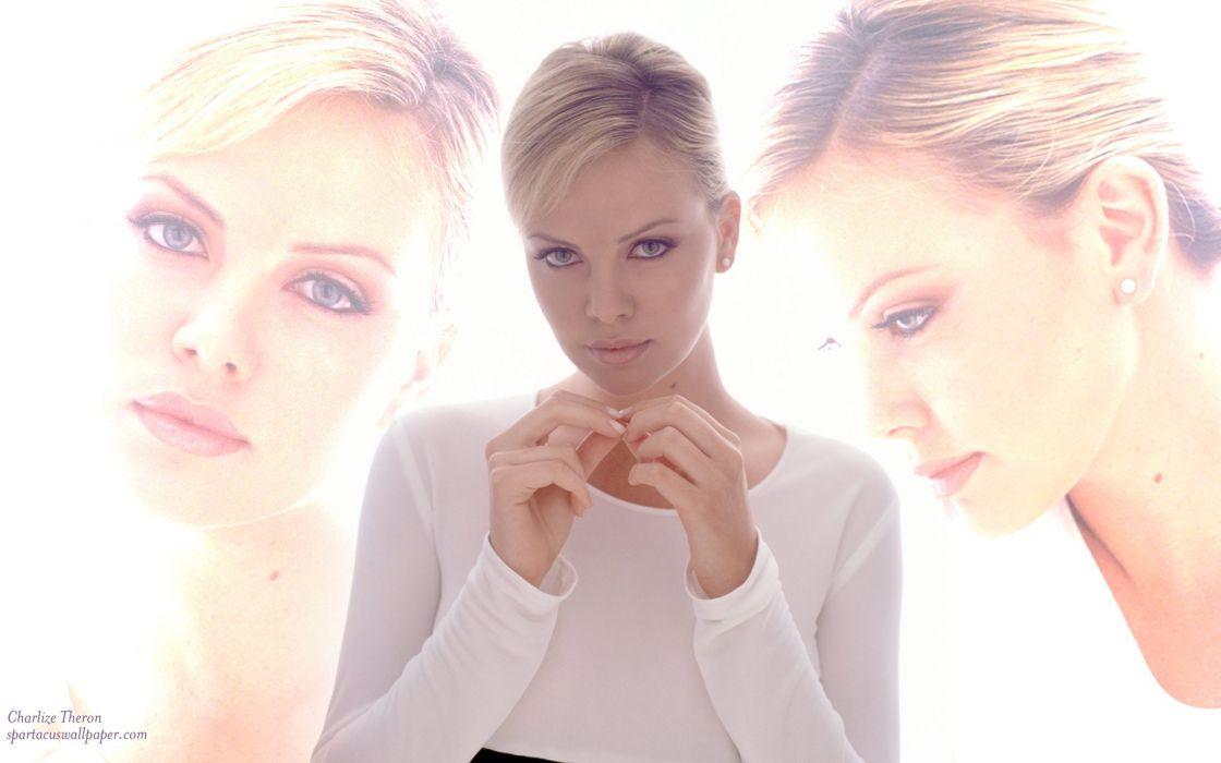 charlize theron actress blonde babe wallpaper
