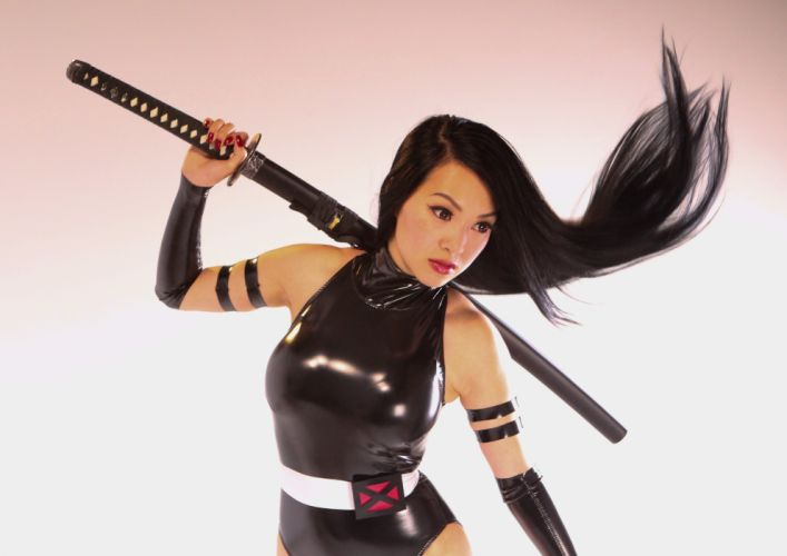 cosplay fantasy game asian sexy babe fetish wallpaper