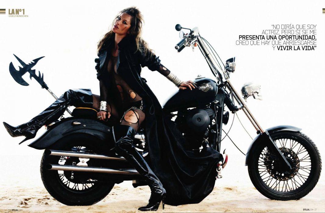 sexy babe model brasil actress Gisele BA wallpaper