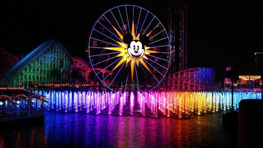 Mickey Mouse Ferris Wheel wallpaper