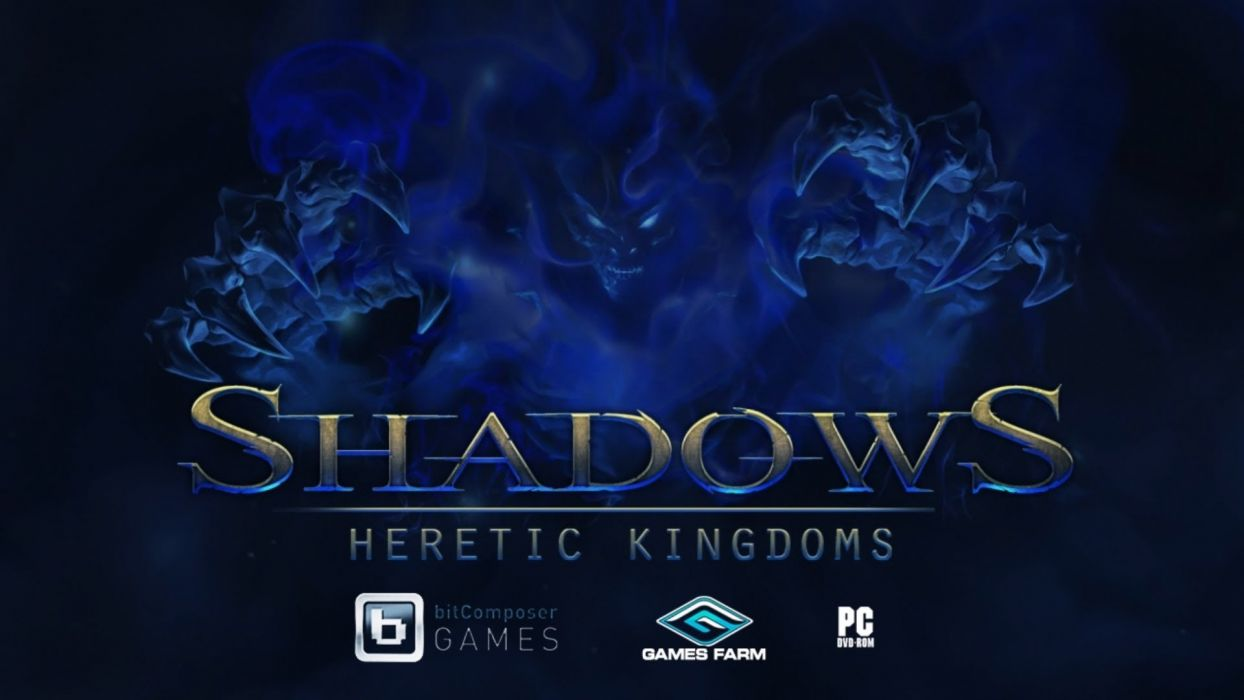 HERETIC KINGDOMS action rpg fantasy shadows kult wallpaper