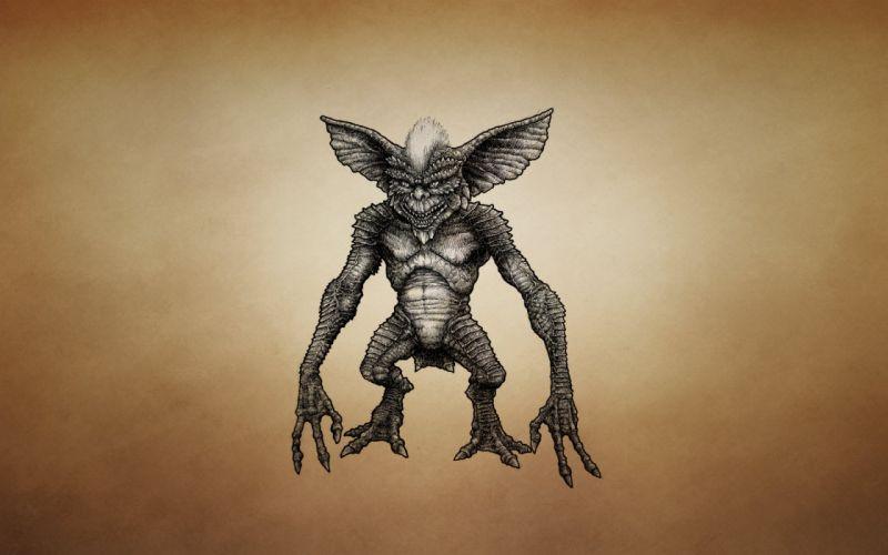 Monsters Gremlins Movies Fantasy gremlin alien sci-fi d wallpaper