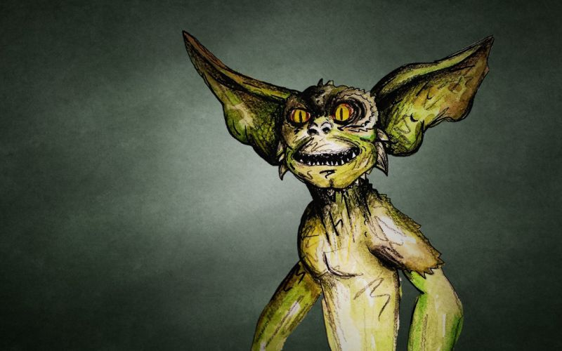 Monsters Gremlins Movies Fantasy gremlin alien sci-fi wallpaper