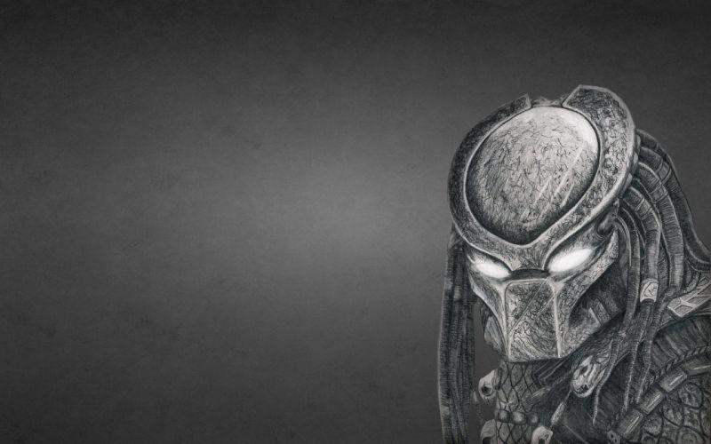 Predator Monsters Painting Art Games Fantasy alien sci-fi wallpaper