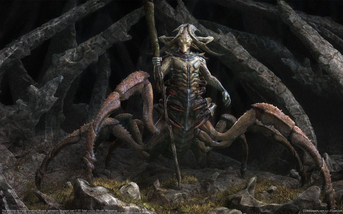 Supernatural beings Monster Fantasy warrior crab wallpaper