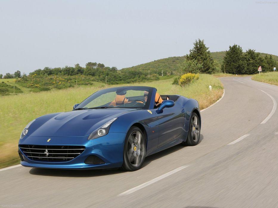 2015 california Ferrari turbo Supercar convertible cabriolet italian wallpaper