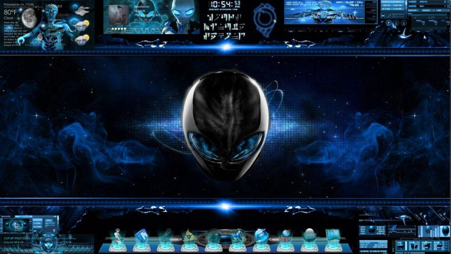 ALIENWARE DESKTOP gaming computer videogame game (1) wallpaper