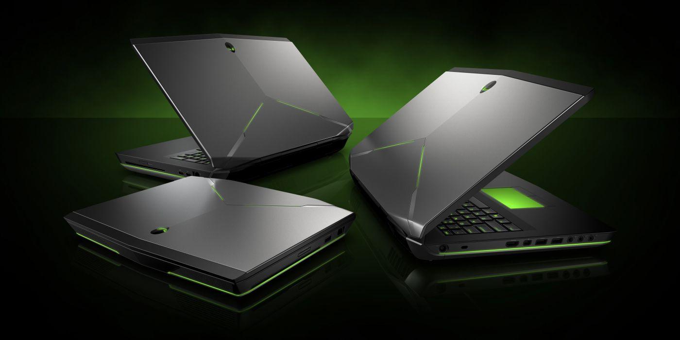 ALIENWARE gaming laptop computer videogame (5) wallpaper
