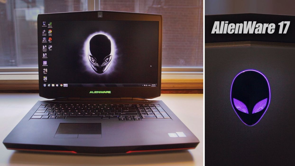 ALIENWARE gaming laptop computer videogame (17) wallpaper