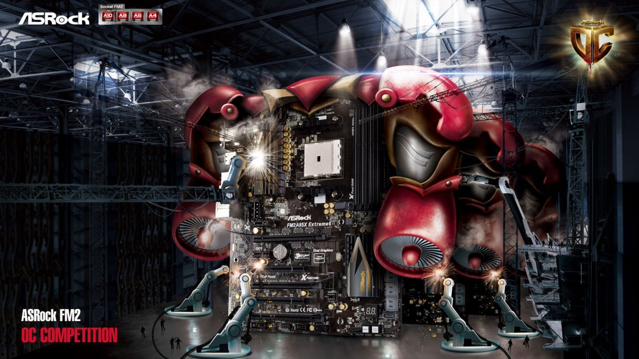 ASROCK GAMING MOTHERBOARD Computer Videogame Game 5 Wallpaper