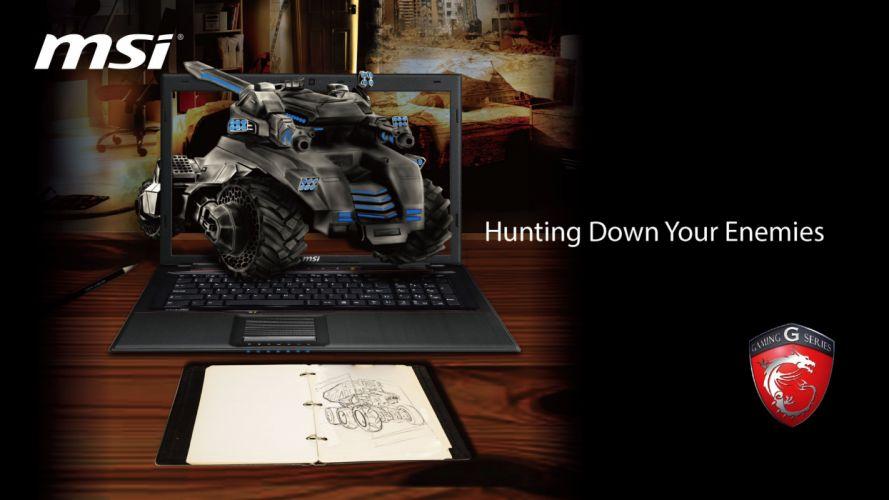 MSI GAMING LAPTOP game videogame computer (2) wallpaper
