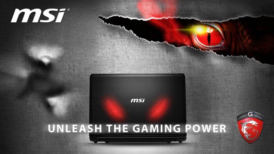 MSI GAMING LAPTOP game videogame computer (50) wallpaper