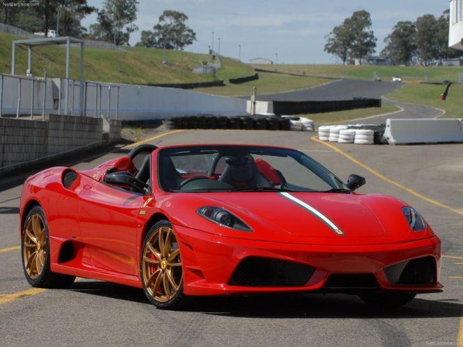 16m 2009 Ferrari scuderia spider Supercar supercars wallpaper