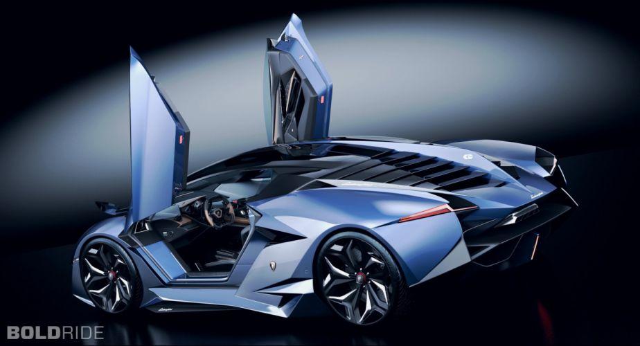 2014 lamborghini resonare concept car wallpaper