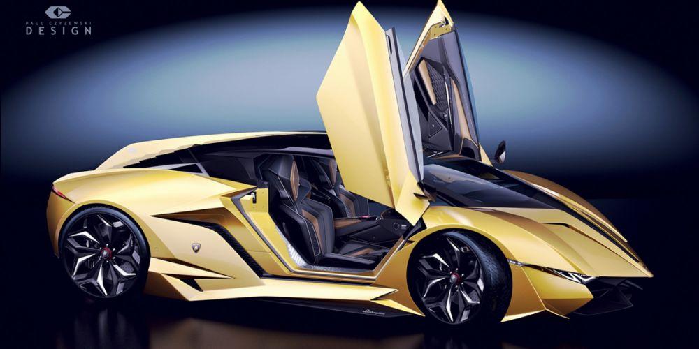 2014 car Concept Lamborghini resonare wallpaper