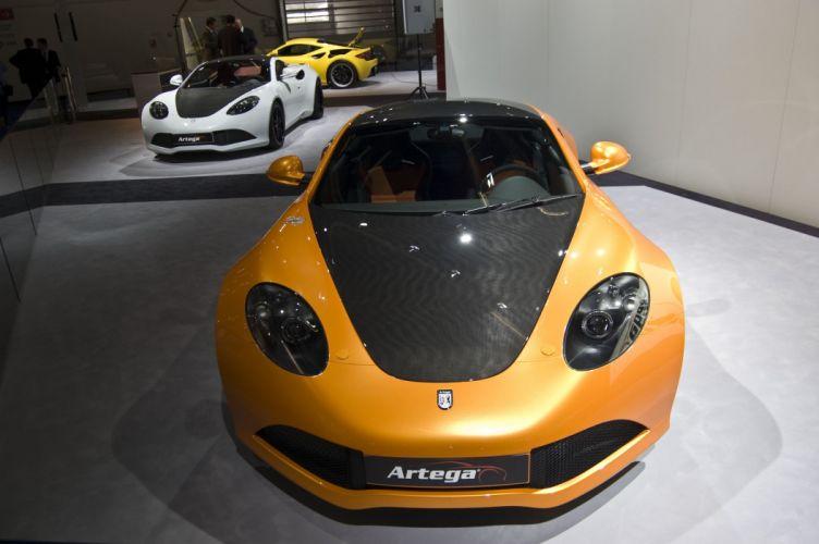 2007 artega g t Supercar supercars V 6 coupe wallpaper