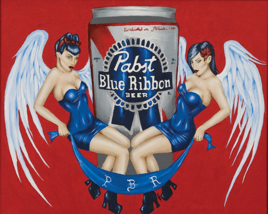 PABST BLUE RIBBON BEER alcohol (20) wallpaper