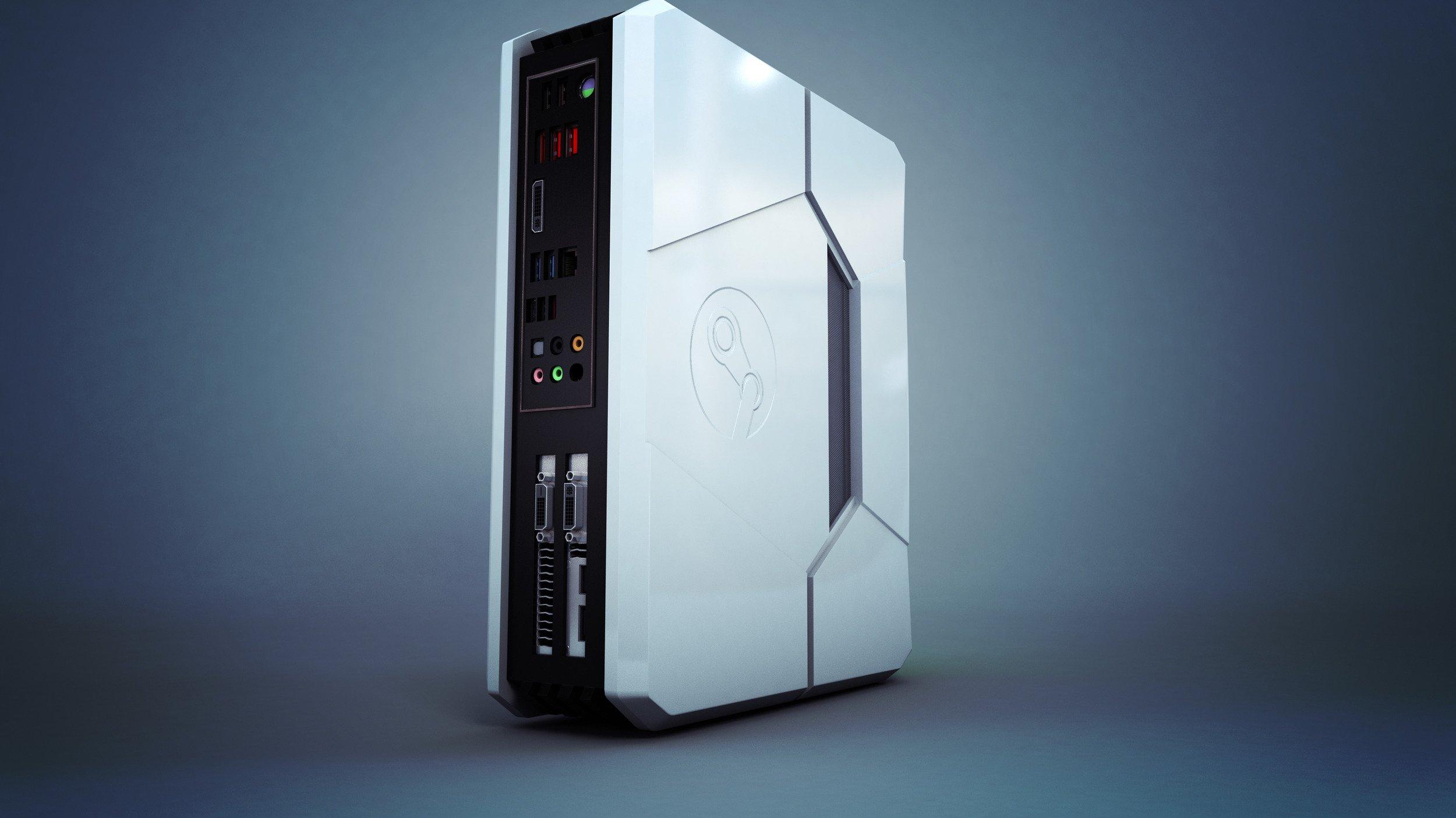 Steam Machine Computer Cyberpower Steam Machine