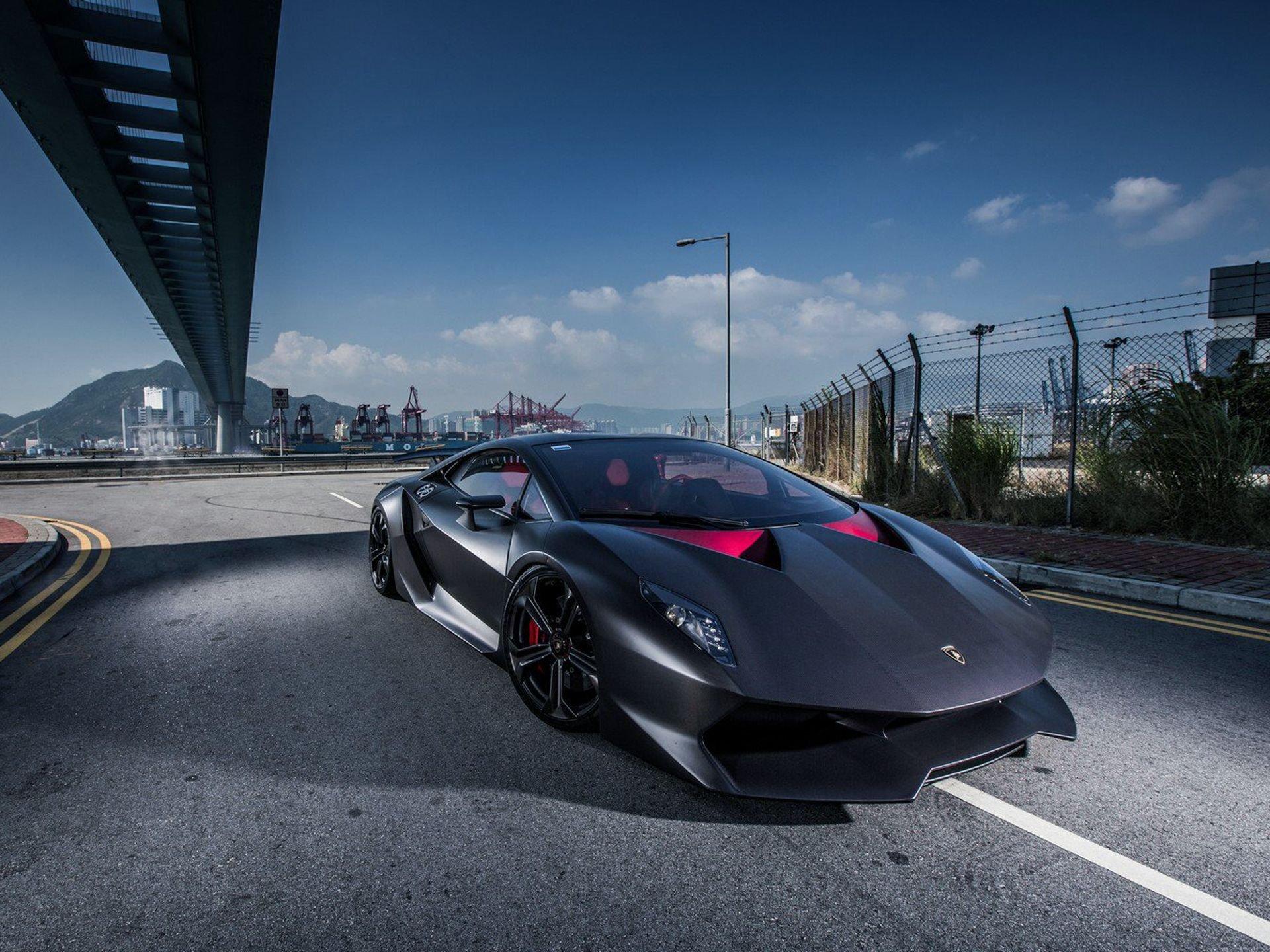 Automobile Cars Colored Elemento Lamborghini Matte Sesto Vehicles