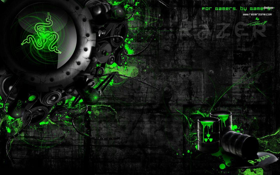 RAZER GAMING computer game wallpaper