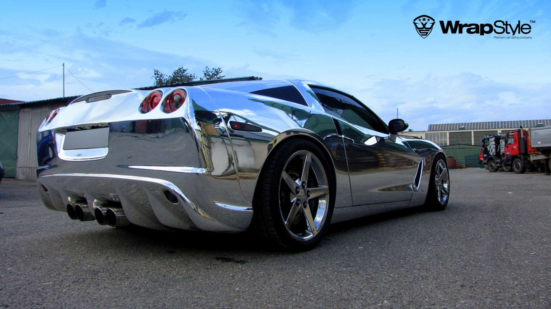 Vinyl Wrap Forum >> Chevrolet corvette Wrap Vinyl chrome wallpaper   1920x1080   401189   WallpaperUP