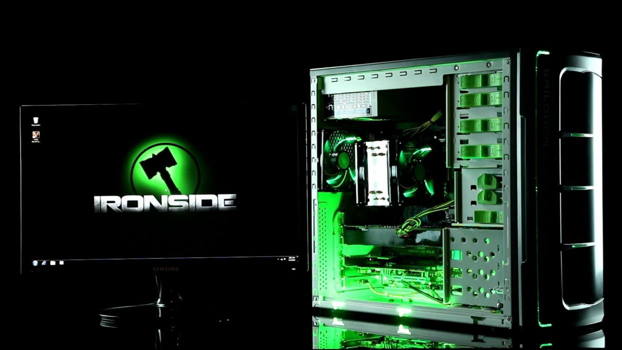 IRONSIDE GAMING computer desktop wallpaper