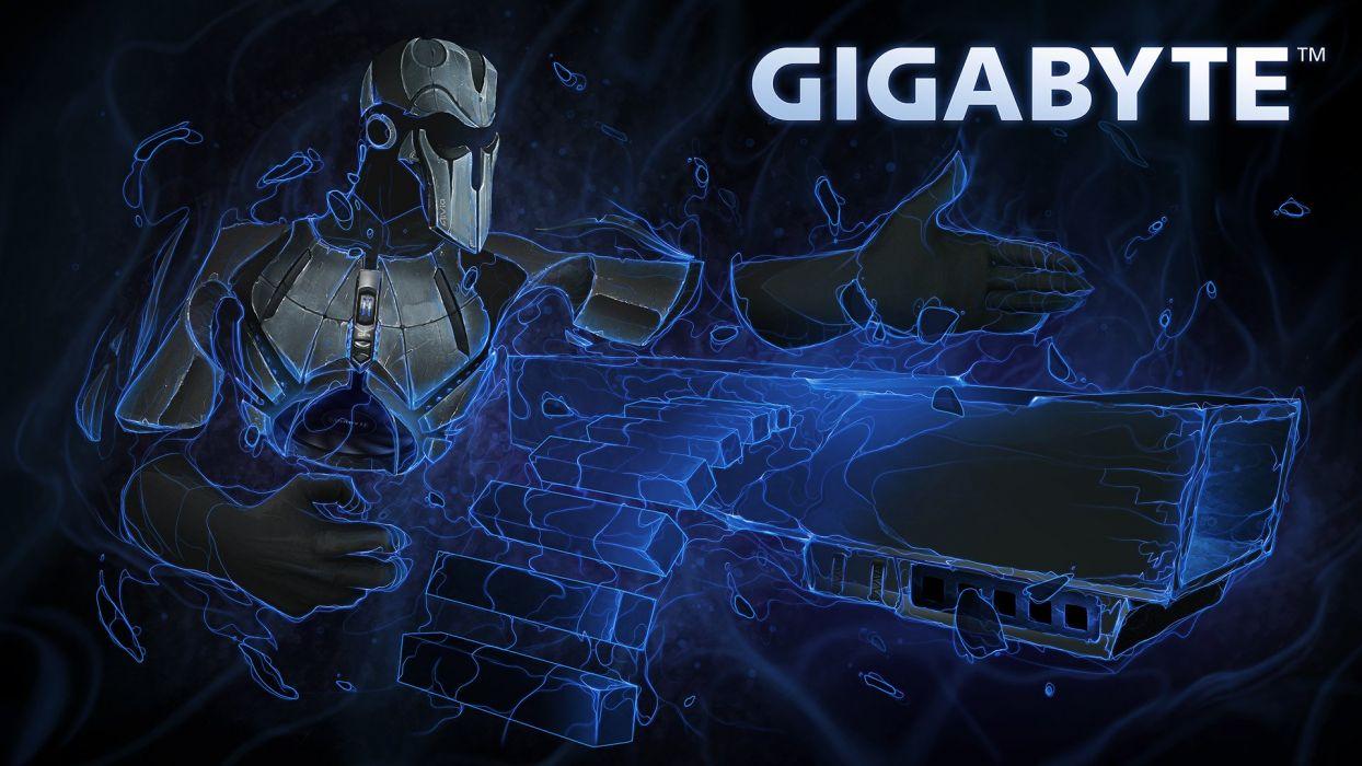 GIGABYTE gaming computer wallpaper