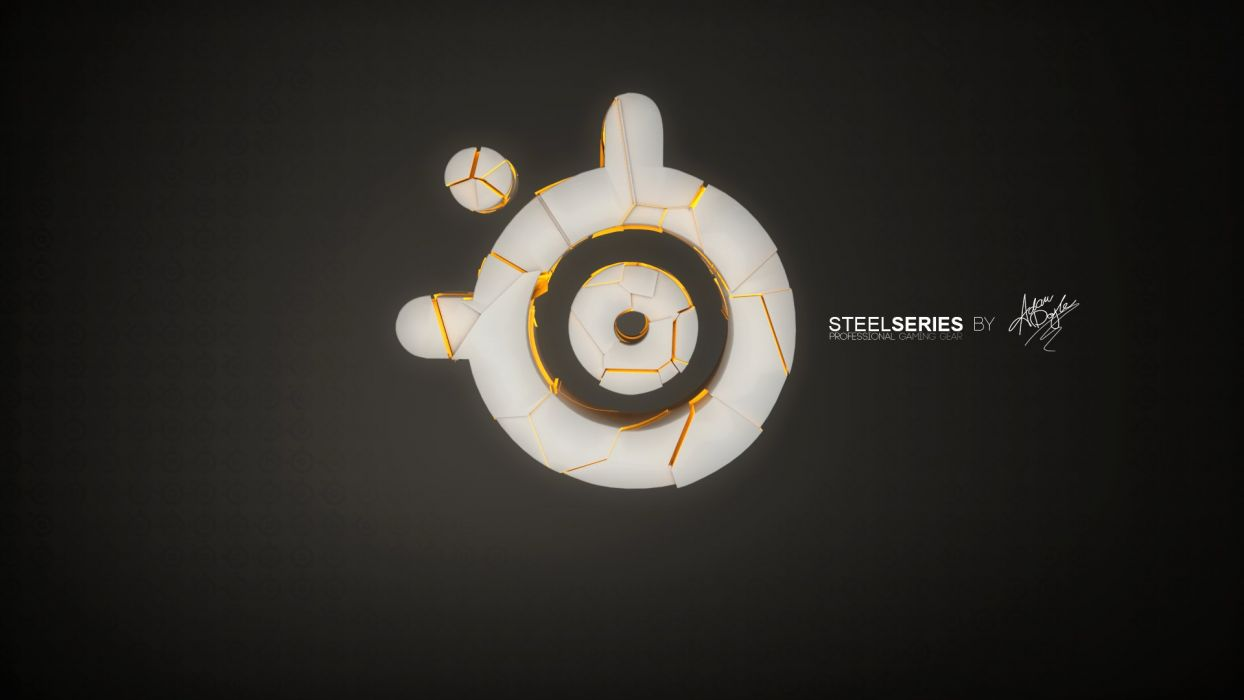 STEELSERIES Gaming computer  w wallpaper
