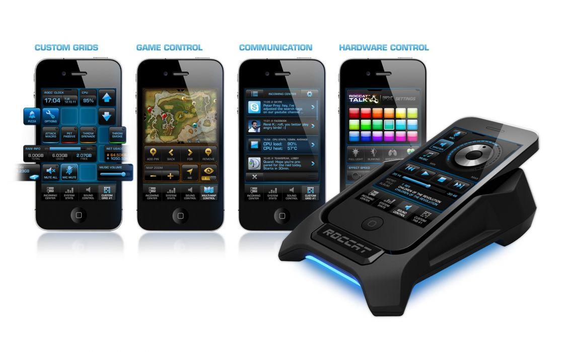 ROCCAT GAMING computer phone  f wallpaper