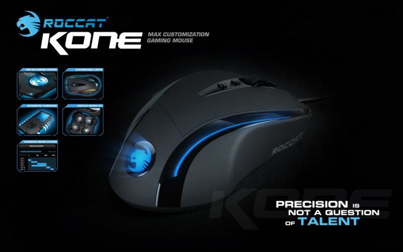 ROCCAT GAMING computer mouse ds wallpaper