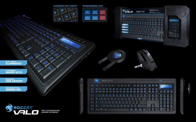 ROCCAT GAMING computer keyboard t wallpaper