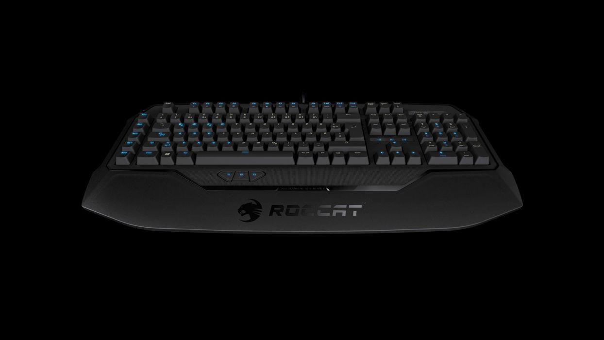 ROCCAT GAMING computer keyboard   f wallpaper