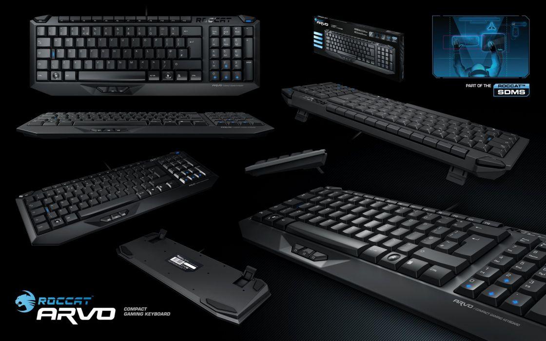 ROCCAT GAMING computer keyboard  d wallpaper
