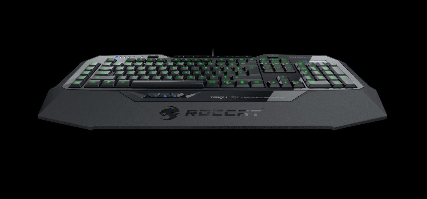 ROCCAT GAMING computer keyboard  g wallpaper