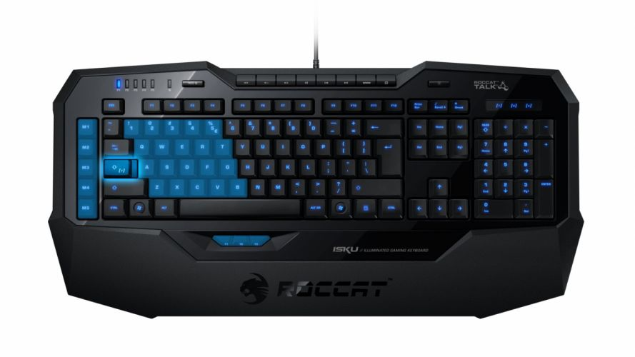 ROCCAT GAMING computer keyboard f wallpaper