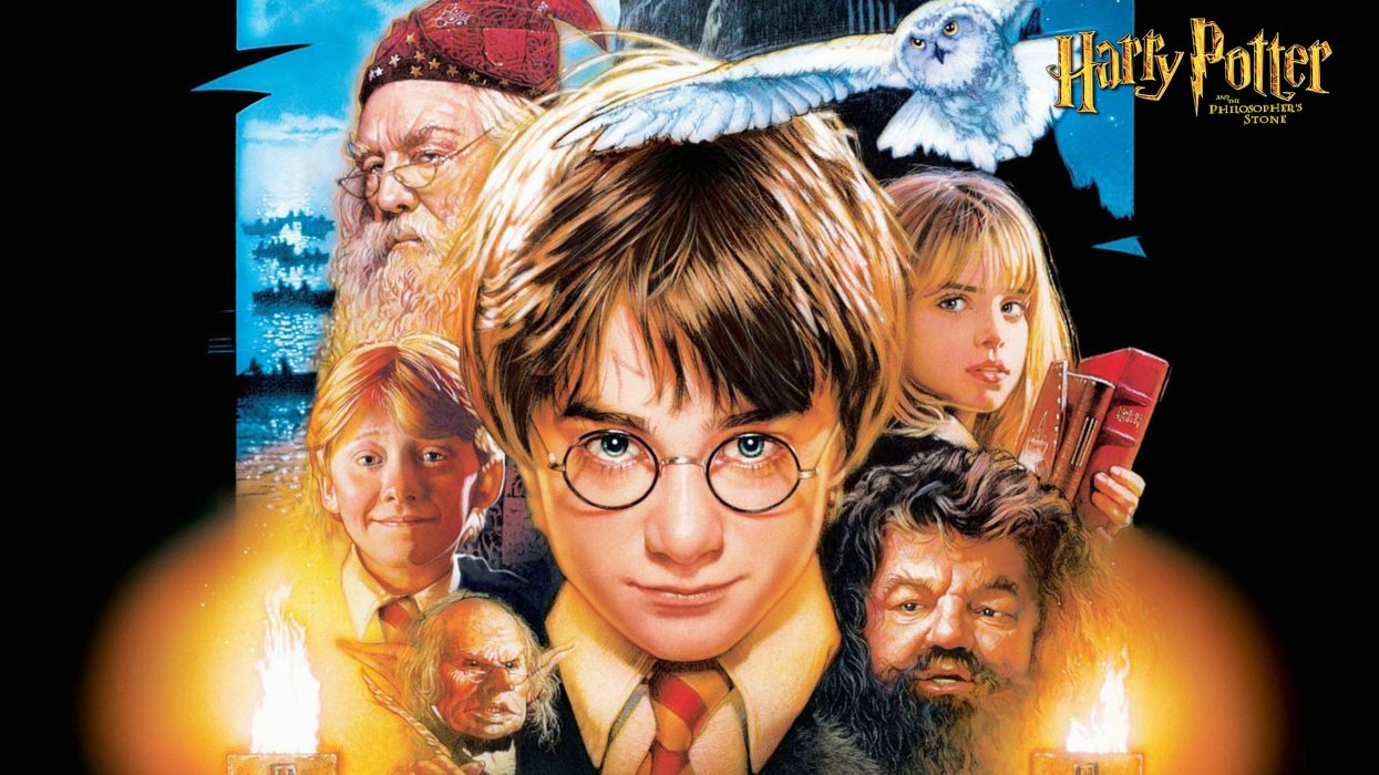 Harry Potter and Philosopher's Stone wallpaper