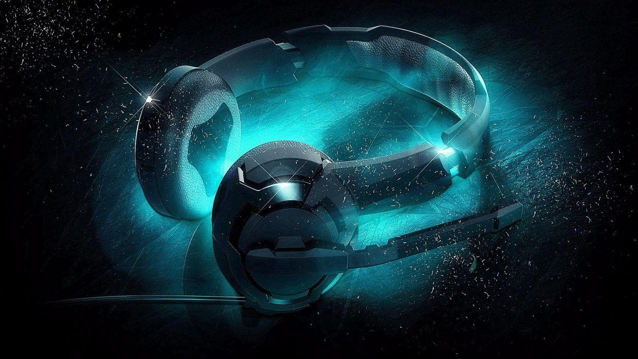 ROCCAT GAMING computer headphones     f wallpaper