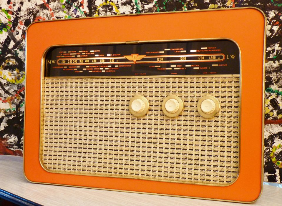 radio stereo electronic wallpaper