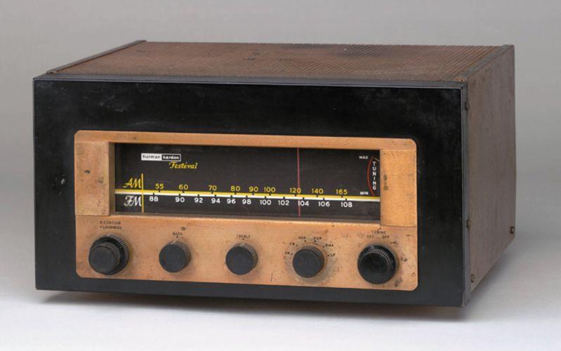 radio stereo electronic wallpaper